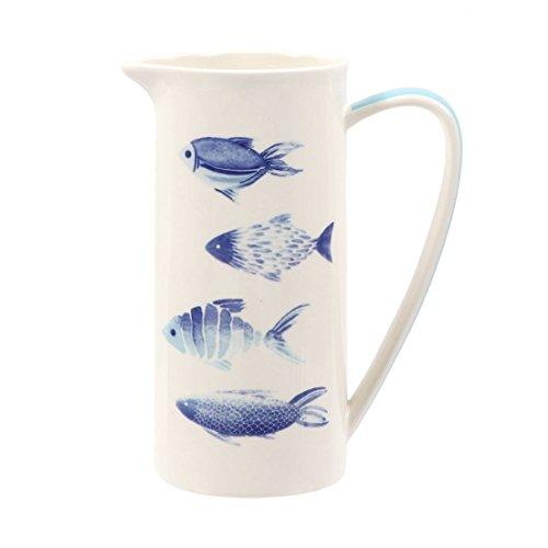 DEI 20737 Fischkrug, 24,1 cm, mehrfarbig