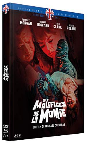 Les Maléfices de la Momie - Mediabook DVD + Blu-Ray + Livret [Édition Collector Blu-ray + DVD + Livret]