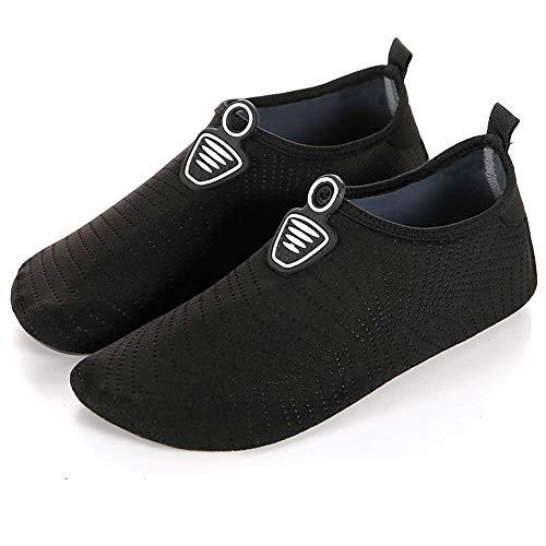 Unitysow Zapatillas de Agua Hombres Verano Secado Rápido Zapatillas de Playa Ligeros Transpirable Aqua Calzado Snorkel Bucear Surf Swim Piscina Zapatillas de Yoga Escarpines