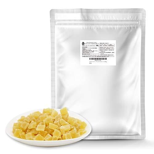 ドライパイナップル 500g ドライフルーツ パイナップル パインアップル お菓子 おやつ 朝ごはん 便利なアルミチャック付袋 防災食品 非常食 備蓄食 保存食