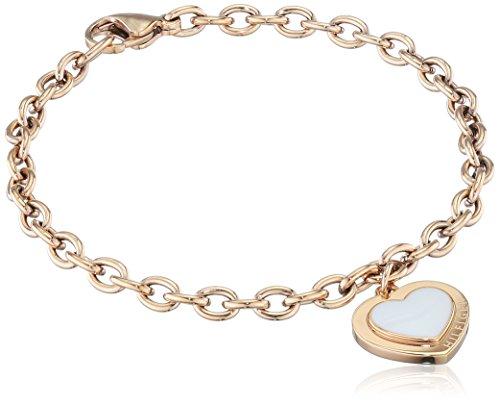 Tommy Hilfiger Damen-Armband Edelstahl teilvergoldet Emaille 18 cm - 2700931