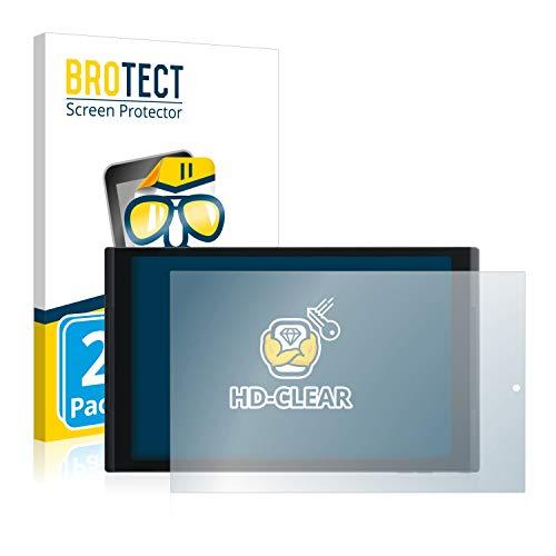 BROTECT Schutzfolie kompatibel mit Medion Lifetab X10302 (MD 60347) (2 Stück) klare Bildschirmschutz-Folie