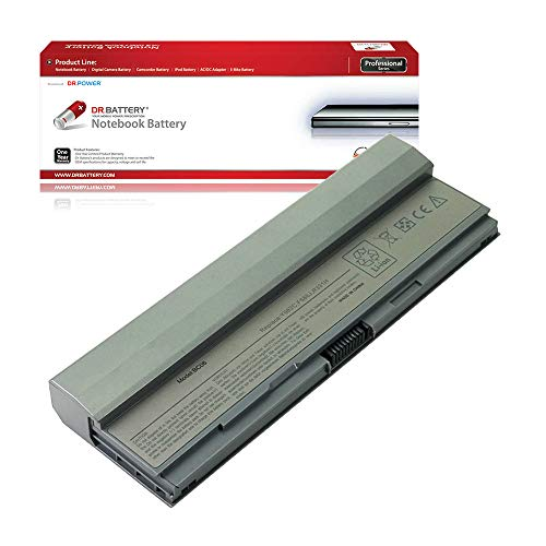 DR. BATTERY Laptop Battery for Dell W346C X784C Y082C Y085C Latitude E4200 E4200n [11.1V/4000mAh/44Wh]