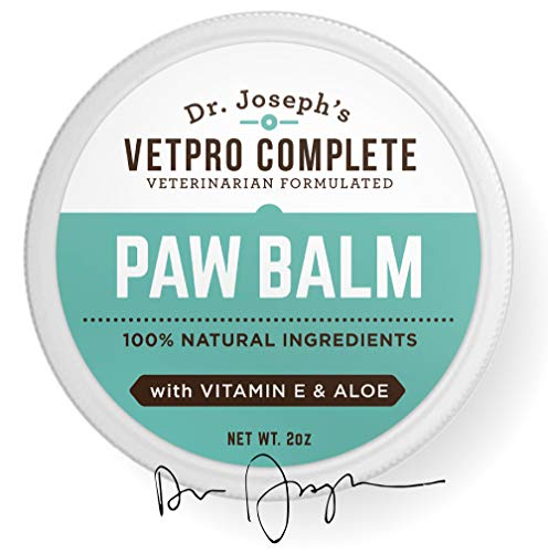 100% Natural Vet Formulated Paw and Nose Balm Wax...