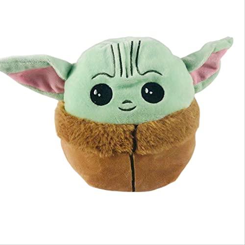 Juguetes de Peluche 15cm Juguete Reversible Baby Yoda 2 En 1 Muñeca De Doble Cara De Felpa Dibujos Animados Anime Star Wars Juguetes Modelo para Aliviar El Estrés De Presión