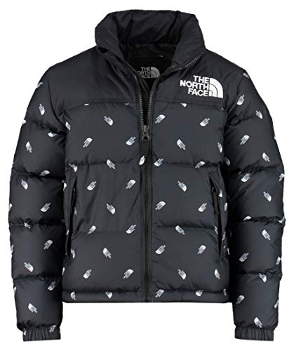 THE NORTH FACE Jungen Daunenjacke Retro Nuptse schwarz (200) S