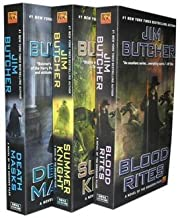 Jim Butcher Collection 3 Books Set.: Death Masks, Blood Rites, Summer Knight