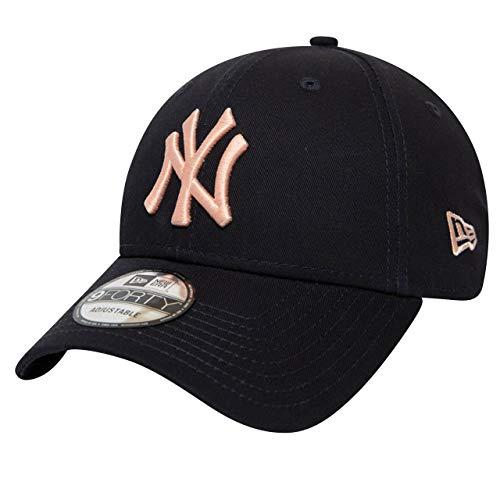 A NEW ERA Era York Yankees 9forty Adjustable Cap League Essential Navy/Rose...