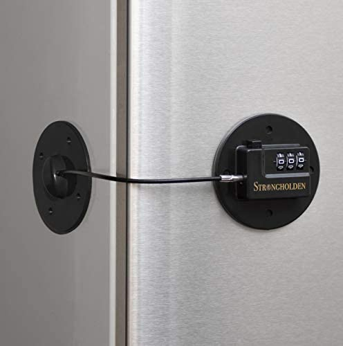 Refrigerator Lock Combination Fridge Lock Combo Take Care of your Family with Strongholden No product image