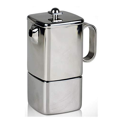 Lowest Prices! Coffee moka pot Moka Pot Stainless Steel Household Small Coffee Making Device Espress...