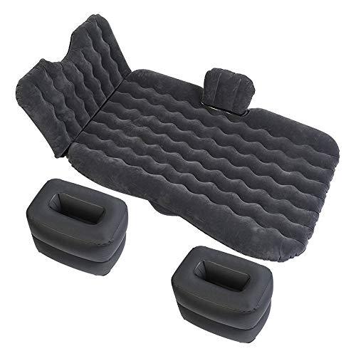 KFRSQ Opblaasbare sofa, luchtbed, zelfopblaasbaar, luchtbed, luchtbed, achterrij, bedkussen, reisbed, volwassenen, isomat zwart