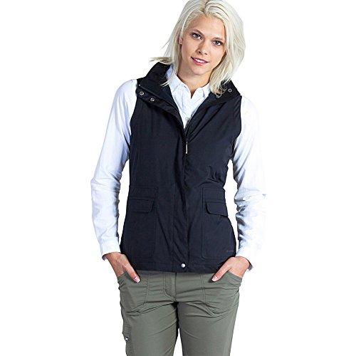 ExOfficio Women's FlyQ Vest, Black, X-Small