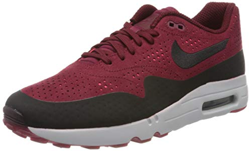Nike Herren AIR MAX 1 Ultra 2.0 Moire Sneaker, Rot (Rougeéquipe/rougesolaire/platinepur/Noir), 40 EU