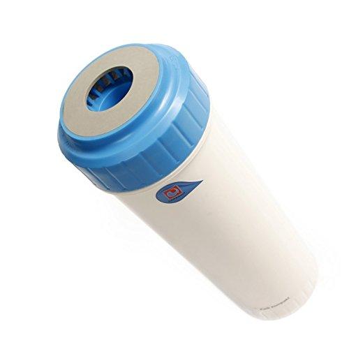 sanquell Wasserfilter Kalk Kompakt Carbonit | Macht hartes Wasser weich | besserer Geschmack für Kaffee und Tee | schützt Wasserkocher