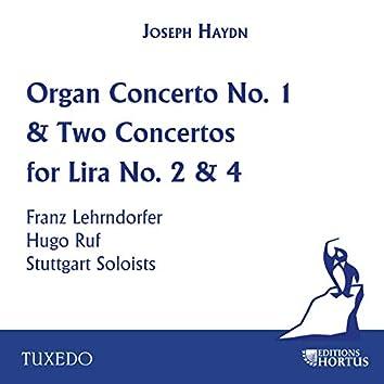 Haydn: Organ Concerto No. 1 & Two Concertos for Lira No. 2 & 4