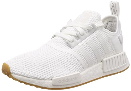 adidas NMD_R1, Sneaker Hombre, Footwear White/Footwear White/Crystal White, 42 EU ✅