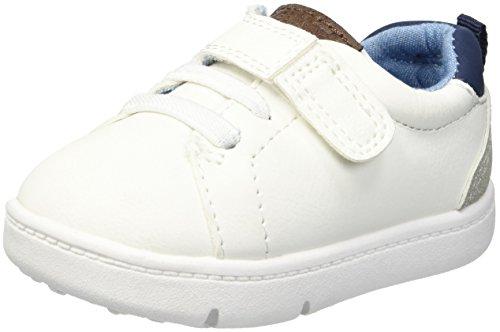 Carter's Every Step Boy's 1st Walker Park Fashion Sneaker, White, 2.5 M US Infant