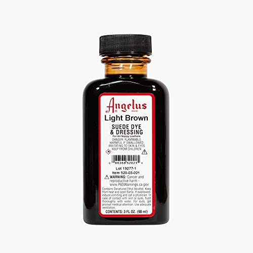 Angelus Suede Dye Light Brown