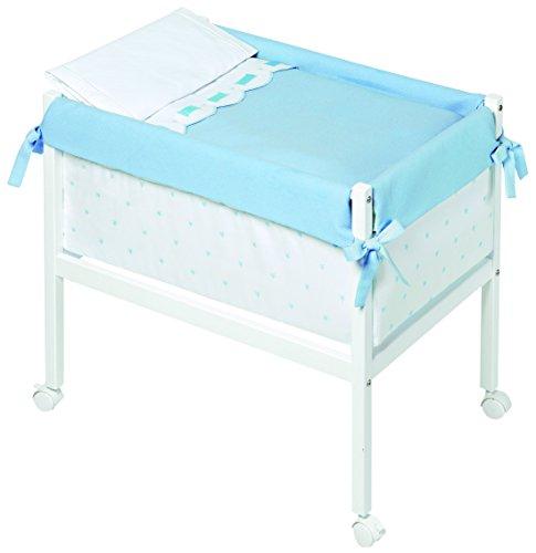 Bimbi Class – Bébé, 61 x 90 x 80 cm, couleur blanc et bleu