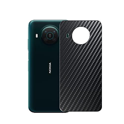 VacFun 2 Pezzi Pellicola Protettiva Posteriore - Nero, compatibile con Nokia X10 Back Film Protettivo (Non Vetro Temperato Protezioni Schermo Cover Custodia)