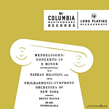 Mendelssohn: Violin Concerto in E Minor, Op. 64 & A Midsummer Night's Dream