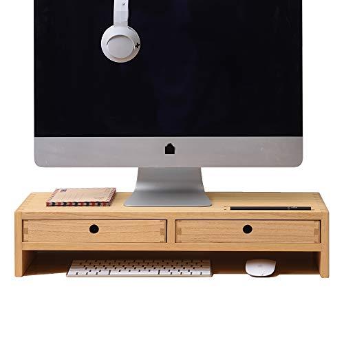 Supporto per monitor con 2 cassetti NA