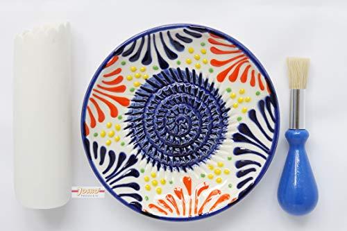 JOSKO Produkte 2786 Knoblauch, Ingwer, Zitronenschale, Parmesan, Schokolade und Muskatnuss, Keramik