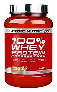 Scitec Nutrition 100% Whey Protein Professional Proteína con Sabor de Chocolate Avellana 920 g