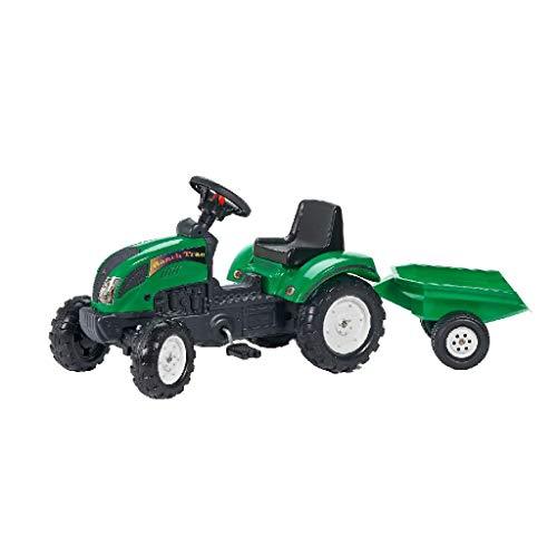 AK Sport 0709209 - Tractor Trac Set 2/5, grün, Traktoren Anhänger