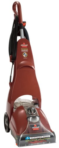 Learn More About BISSELL PowerBrush Full Sized Carpet Steamer and Carpet Shampooer, 1623, Orange