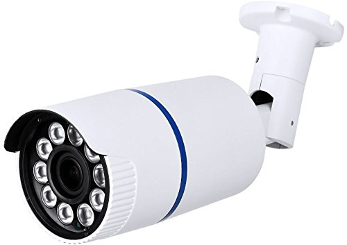 HDView License Plate Camera 2.4MP HD-TVI HLC Shutter Speed HD Megapixel Camera Outdoor Turbo Platinum EXIR Bullet 5-50mm Lens 1080P 10 Matrix IR, ONLY Work with HD-TVI DVR