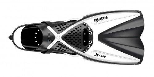 Mares X-One Schnorchelflossen (weiß, S/M (35-38))
