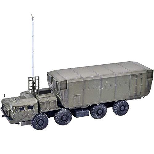 CYHT 1/72 Scale Diecast Tank Modelo de plástico, Sistema de misiles Russian S300 54K6E Baikal Air Defense Posts Post, Juguetes Militares y Regalos