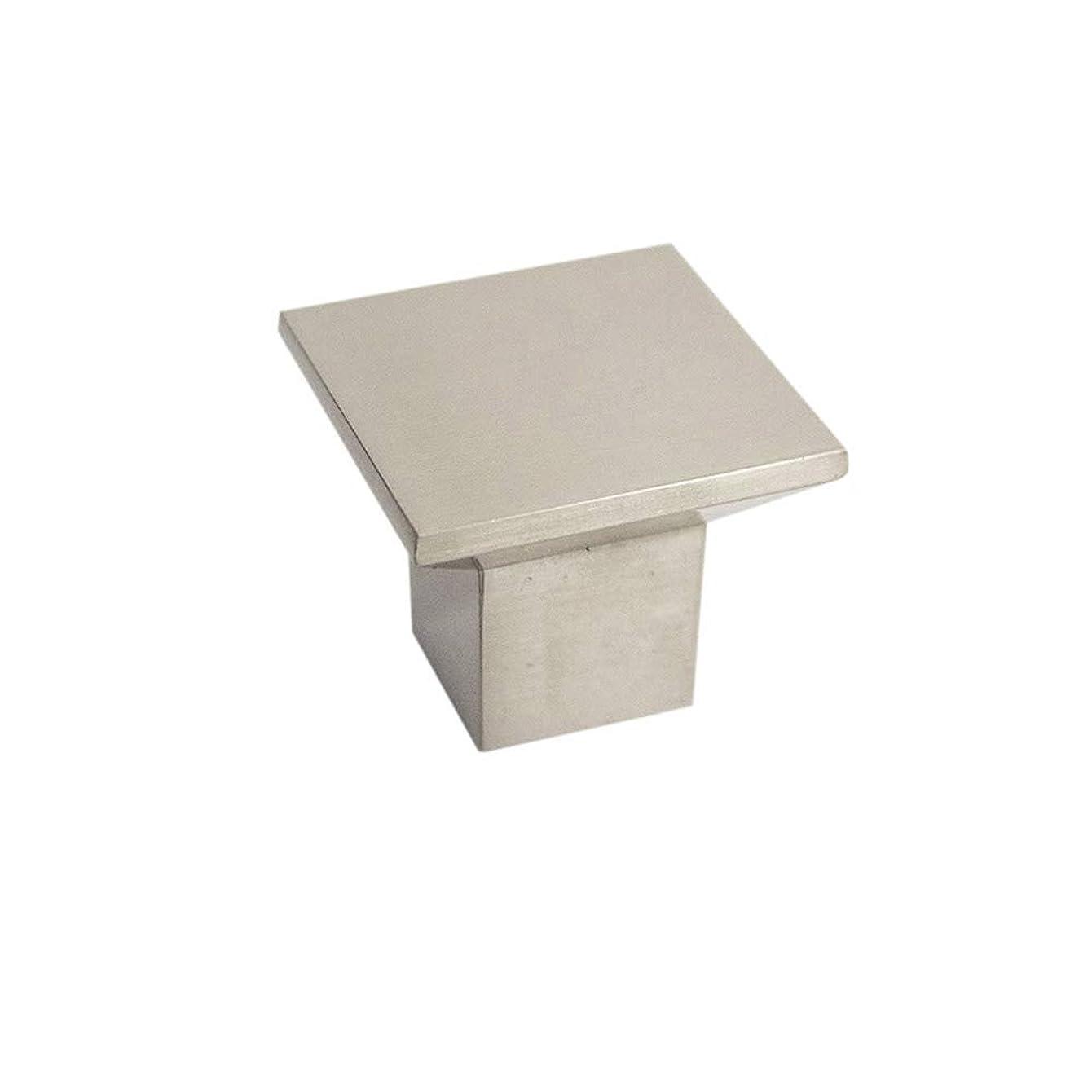 Design House 205179 Cubist Cabinet Knob, Brushed Nickel