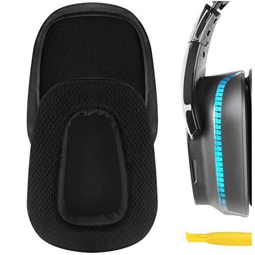 Geekria Ohrpolster für Logitech G633, G933 Kopfhörer/Headset, Reparaturteile