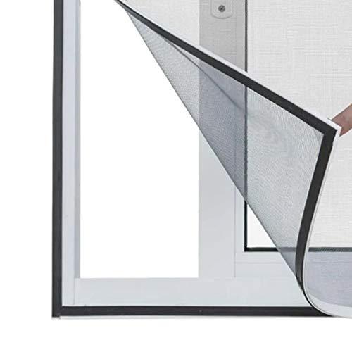 Tela Cortina Mosquiteiro KIT 3 UNI Dengue Magnetico Janela Facil Instalação