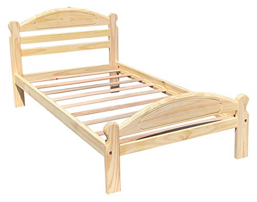 Arizona Solid Pine Wooden Bed