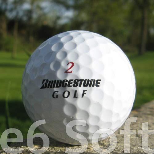 Easy Lakeballs 100 BRIDGESTONE E6 Soft BALLES DE Golf...
