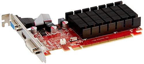 VisionTek Radeon 5450 2GB DDR3 (DVI-I, HDMI, VGA) Graphics Card - 900861,Black Red