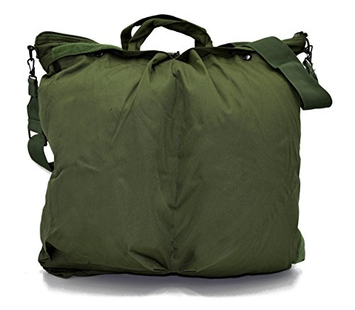 The Aerodyne Borsa Porta Casco da Volo Pilota Militare Flight Helmet Bag (Verde OD)