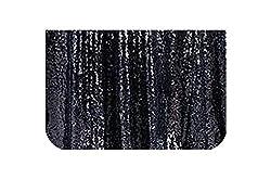 Black Sequins Tablecloth