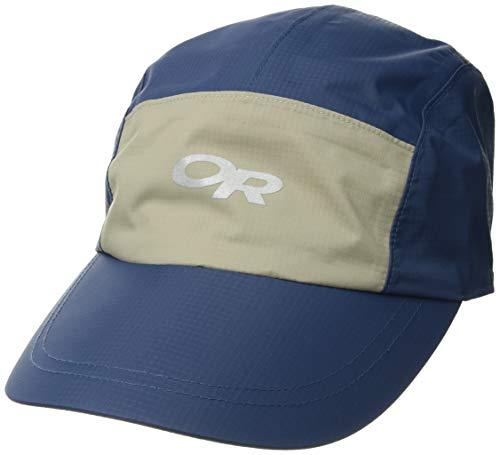 Outdoor Research Halo Rain Cap, Indigo/Khaki, 1size