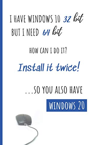 """I have Windows 10 23 bit but I need 64 bit..Notebook: Lined-Journal Organizer 6""""x 9"""" - 120 pages. Journal, diary, notebook for School, Study and Work. ... Women, men, Adults, for Girls, and Boys."""