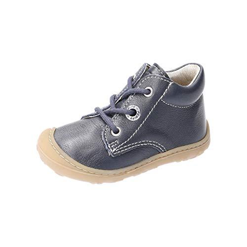 RICOSTA Pepino Mixte Enfant Bottes, Boots Cory, Fille,Garcon Chaussures bébé,Chaussure à Lacets,Largeur: Normale (WMS),Nautic,21 EU / 5 Child UK