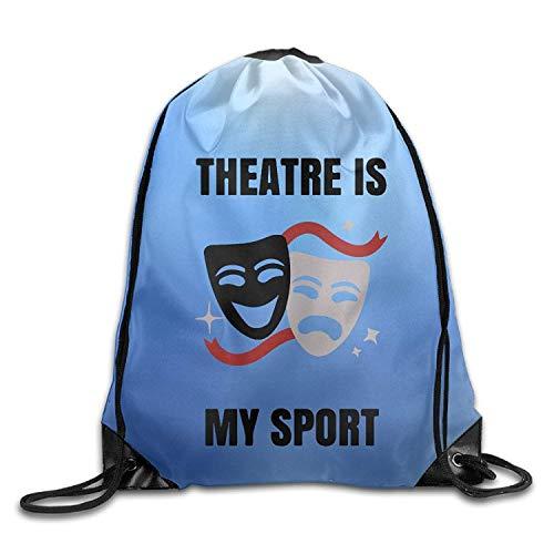 Etryrt Prämie Turnbeutel/Sportbeutel, Theatre is My Sport Sports Gym Drawstring Bags