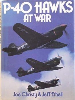 P-40 Hawks at war 0684164418 Book Cover