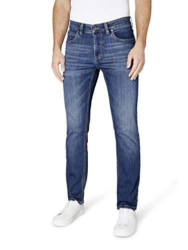 Atelier GARDEUR Herren Batu Comfort Stretch Jeans, Marine 68, 33W / 32L