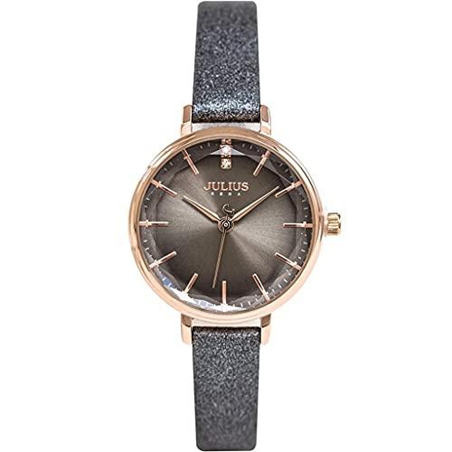 WYZQ Reloj de Mujer Reloj de Cuarzo Impermeable Simple Tendencia de Moda Mesa Delgada para Estudiantes, Relojes