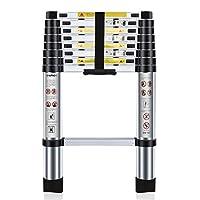 Nestling® 2.6M Escalera Telescópica Multiusos de Aluminio Portátil. Extensión...