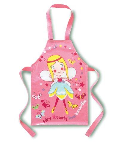 Cooksmart Kids Fairy PVC Apron, Wipe Clean Material